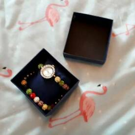 Watch and braclet set quartz ny London