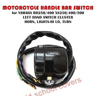 Interrupteur Guidon Ensemble Gauche Yamaha RD250 RD400 XS250 XS400 XS500 Klaxon