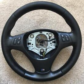 BMW m sport steering wheel e90 e91 e87 e88 e82 e81