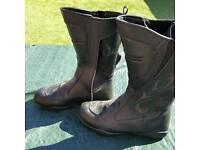 Ladies motorbike boots
