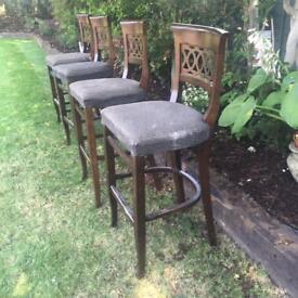Bespoke bar/island stools