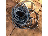 Garden hose roll