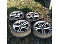 19 inch alloys / alloy wheels- Leon -golf