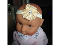 Boutique style Baby headbands, New