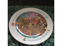 Birdseye eye spy fishfinger plate