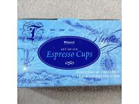 New Whittard Expresso Cups