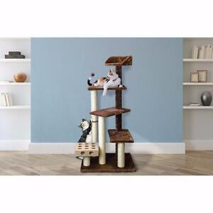 """49"""" Tiger Tough Cat Tree by FurHaven NEW"""