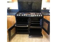 Belling Cookcentre 109cms dual fuel range cooker