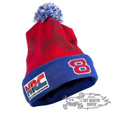 Guy Martin Limited Edition 'Nigel Racing Corporation' Head Gasket Bobble Hat