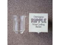 Dartington Ripple Wine/Ice Cooling Glass Bucket