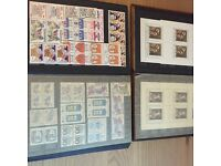 Stamp collection Czechoslovakia