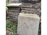 FREE 55 garden patio concrete paving path slabs