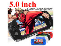 BRAND NEW,A15 5'' inch 32 Bit Portable Handheld Game Console Player 1000+Retro Games