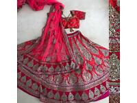 Indian bridal lengha/ dress