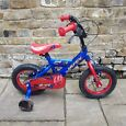 Kids Huffy Patriot 12 inch Bike with Stabilisers - Excellent Condition!