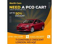 ** £70 PER WEEK ** / PCO Car Rent/ PCO Car Hire / Rent / Uber / Toyota Prius [NORTH LONDON OFFICE]
