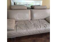 Stone Leather Sofas