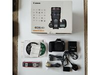 Canon EOS 6D 20.2MP Digital SLR Camera - Black (Body only) NEAR MINT IN BOX
