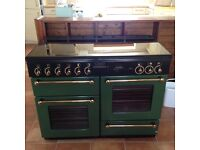 Rangemaster 110 gas oven and cooker