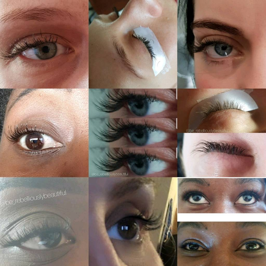 Mobile Lash extensions, lash lift/tint, spray tan, teeth whitening