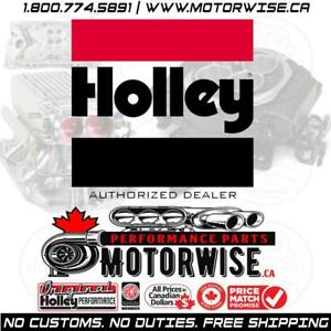 Holley Performance Parts | Free Shipping Canada Wide | Browse & Shop Online Today at www.motorwise.ca