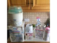 Avent baby steriliser set