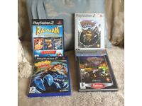 PlayStation 2 games crash bandicoot rayman ratchet and clank 4 games in total