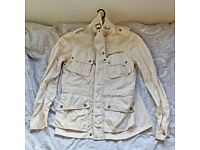 BEAUTIFUL VINTAGE RALPH LAUREN Mens Coat Jacket Size M in White RARE COST £300 !