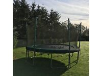 trampoline for sale as photo £100.00