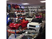 Offical Kids Ride-On Electric Cars, Parental remote Control Or Self Drive From £85