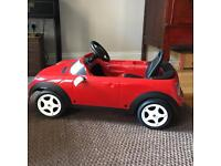 Official Mini Toy Car with pedals