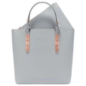 Ted Baker Adjustable Handle Zip Shopper Bag Handbag