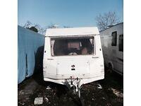 Sprite clubman touring caravan