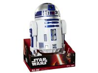 "STAR WARS THE FORCE AWAKENS JAKKS PACIFIC BIG FIGS 18"" ASTROMECH R2D2 DROID ACTION FIGURE TOY £60"