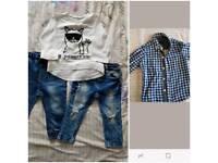 Baby Boy Next and h&m bundle
