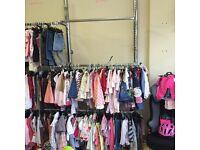 Clothing racks x6