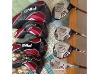 PING G15 Full Set with Bag (please look and read info )