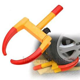 Brand new Heavy duty steel claw wheel clamp