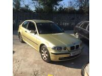 Breaking BMW E46 Compact 1.6 litre Automatic Petrol