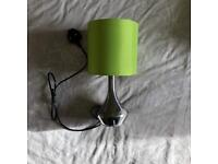 2x green touch lamps