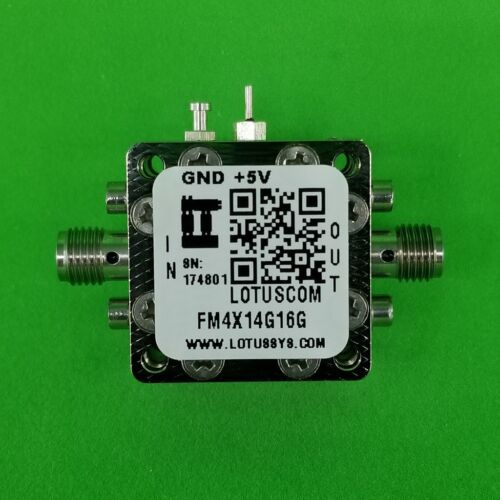 Frequency Multiplier X4 (OUTPUT 14.4 GHz to 16.4 GHz)