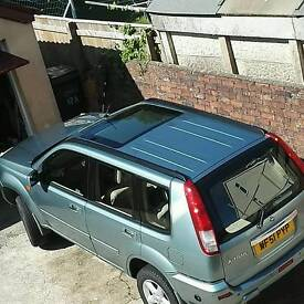 JEEP, NISSAN X-TRAIL, LPG - GAS, LEATHER CREAM, VERY CLEAN,1,9, petrol - gas, very economic, sunroof