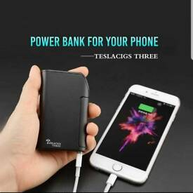 Tesla 3 Vape and Powerbank + Atomizer