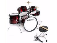 Mirage JDK junior 5 piece drum kit