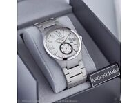A BRAN NEW ANTHONY JAMES MENS WATCH WITH BOX, TAG & Certificate of Authenticity