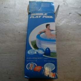 bestway bubble pool
