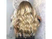 Hairdresser/ Hair Extensions/ nano tip/ tiny tips/ I tip/easilocks
