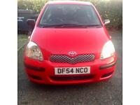 Toyota Yaris 1.4L Diesel D4-D 2005 Red 3 Door Hatchback £1395 ono 1 owner from new