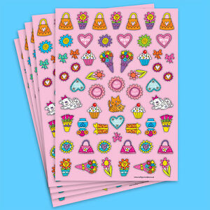 Mothers Day Stickers Card Crafts Colourful Adhesive Paper