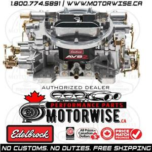 Edelbrock AVS2 Series Manual Choke Carburetor 1905 | 650 cfm | Shop & Order Online at www.motorwise.ca